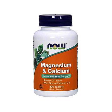 Calcium & Magnesium (250 tabs) NOW