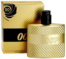 Туалетная вода для мужчин James Bond 007 Gold for Men (75 мл ) Золотая упаковка