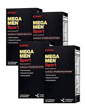 Mega Men Sport (90 caplets) GNC