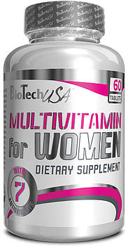 Multivitamin for Women (60 tabs) BioTech