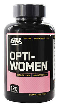 Витамины Opti-Women (120 caps) для женщин Optimum Nutrition