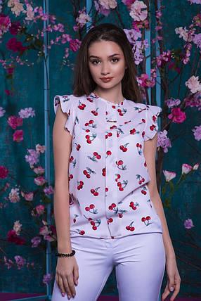 Блуза с вишенками, фото 2