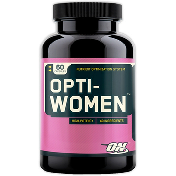Витамины Opti-Women (60 caps) для женщин Optimum Nutrition
