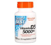 Vitamin D3 5000 IU (180 softgels) Doctor's BEST