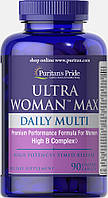 Ultra Woman Daily Multi Time Release (90 caplets) Puritan's Pride