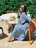 Женское стильное платье с юбкой-солнце (в расцветках), фото 5