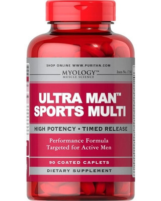 Ultra Man Sports Multi (90 caplets) Puritan's Pride