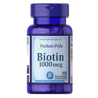Biotin 1000 mcg (100 tab) Puritan's Pride