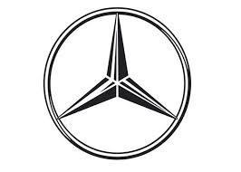 Хромированные накладки под ручки дверей для Mercedes