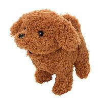 Мягкая игрушка Собака MP 1933  размер сред.17см