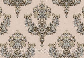 Шпалери Lanita вінілові на флізеліновій основі ДХV 1128-2 Шардоне декор (пудрово-сріблисто-золотий) Вініл (1,06