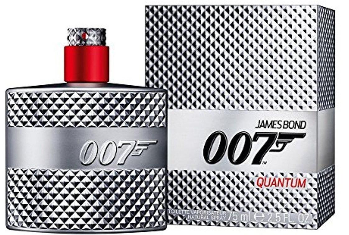 Туалетная вода James Bond 007 Quantum for Men (75 мл ) -серебряные