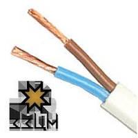 Провод электрический ШВВП с сечением 2х1 ЗЗЦМ (Запорожье)