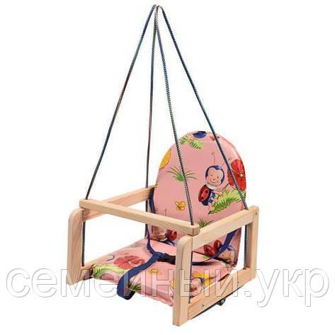 Детская подвесная качеля. Ширина: 35см. высота: 37см. глубина: 35см. Нагрузка-20 кг. V 701-1, фото 2