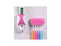 Дозатор зубной пасты и держатель щеток