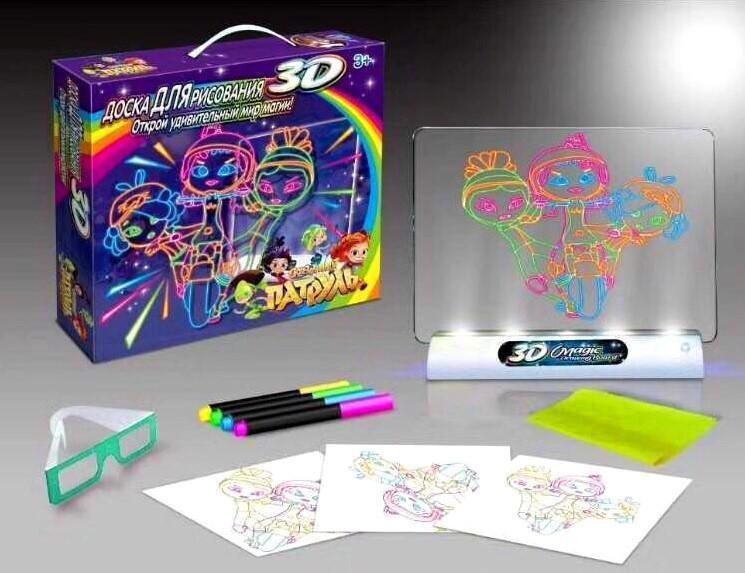3D доска для рисования Toy Magic