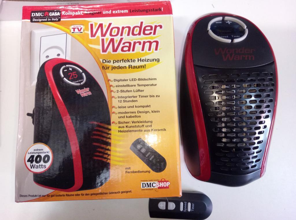 Портативный обогреватель с пультом Wonder Warm