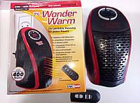 Портативный обогреватель с пультом Wonder Warm, фото 1
