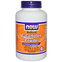 Витамин С (Vitamin C)   порошок Now Foods 500 мг 227 гр