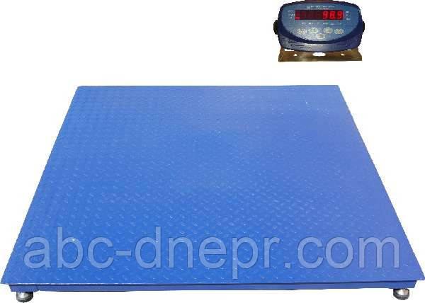 Весы платформенные размером 1.25х1.25 м