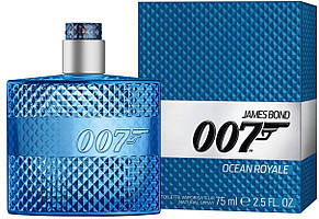 Туалетная вода для мужчин James Bond 007 Ocean Royale for Men (75 мл ) синяя упаковка