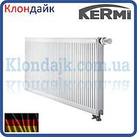 KERMI FTV стальной панельный радиатор тип 22 300х1000 нижнее подключение
