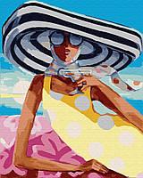"""Картина по номерам. Brushme """"Коктейль на пляже"""" GX29730"""