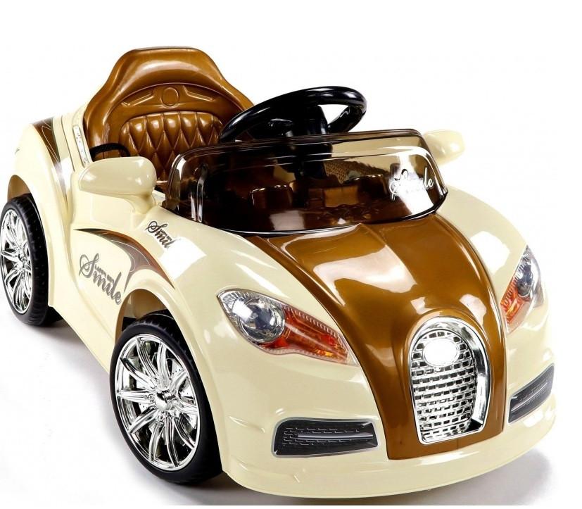 Большой электромобиль для детей CABRIO BU. Разные цвета.