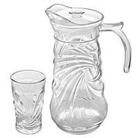 Детский набор  стаканы/графин 7пр/наб 250мл 1.5л R85870 , Хозтовары