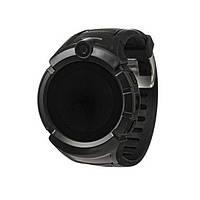 Детские умные часы Q 610S с LED фонариком Черные