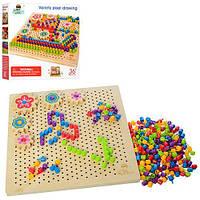 Деревянная игрушка Мозаика MD 1185  в кор-ке, ББ