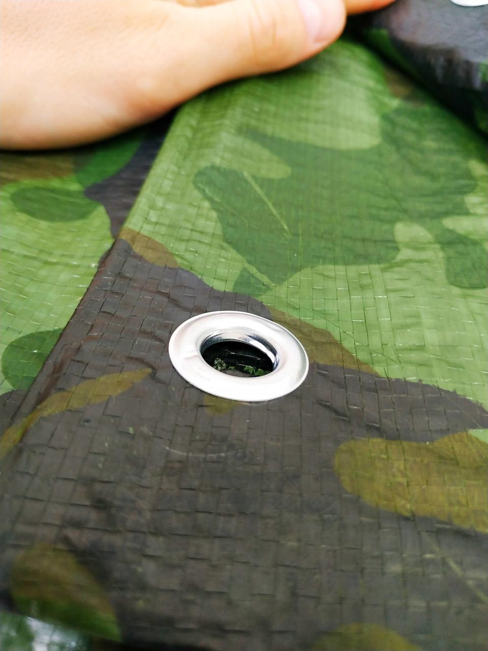 """Тент ламинированный. 3х5м. Цвет """"Хаки"""" Плотность 90 г\м2.С кольцами.Ламинированный"""
