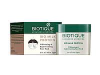 Питательная маска Биотик Био Молочный протеин, Biotique Bio Milk Protein, 50 г.