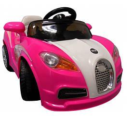 Большой электромобиль для детей CABRIO BU. Разные цвета. Розовый