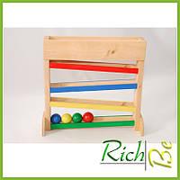 Модуль для прогону куль деревянные детские игрушки
