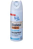 Balea MEN дезодорант антиперспирант для чувствительной кожи Deospray Sensitive 200мл