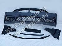Передний бампер BMW 3-series F30 стиль BMW M3 (под противотуманки)