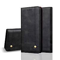 Чехол книжка Stylish Case на Huawei P Smart Plus, черный