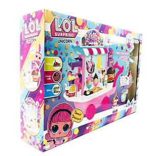 Набор LOL ЛОЛ Unicorn Магазин мороженого PC2345, фото 2