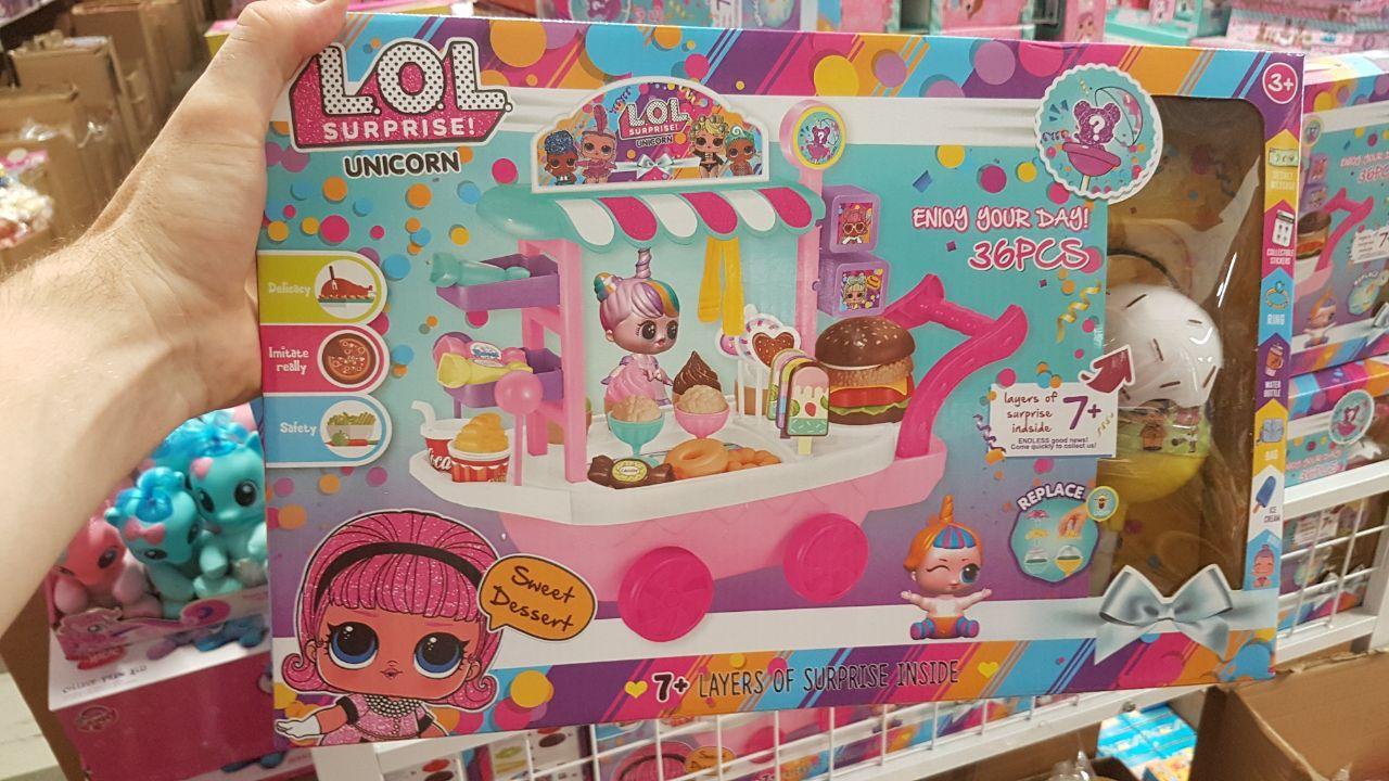 Набор LOL ЛОЛ Unicorn Магазин мороженого PC2345