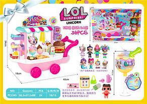 Набор LOL ЛОЛ Unicorn Магазин мороженого PC2345, фото 3