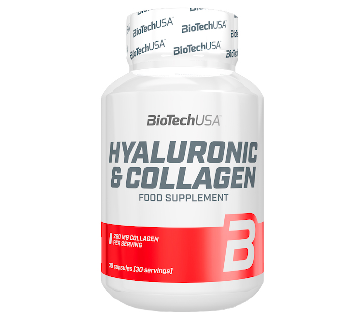 Hyaluronic & Collagen (30 caps) BioTech