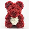 Мишка из роз 40 см в подарочной упаковке + подарок JBL Pulse 3, фото 5