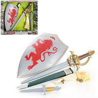 Детский набор  рыцаря Warriors щит (212-6)