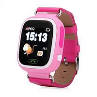 Детские Часы Q100 с GPS Треккером и Телефоном. Оригинал! 740 грн. Розовые