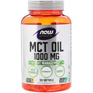 MCT Oil (150 softgels) NOW