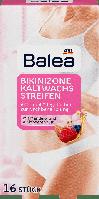 Восковые полоски для депиляции Balea Kaltwachsstreifen Bikinizone, 16 шт.