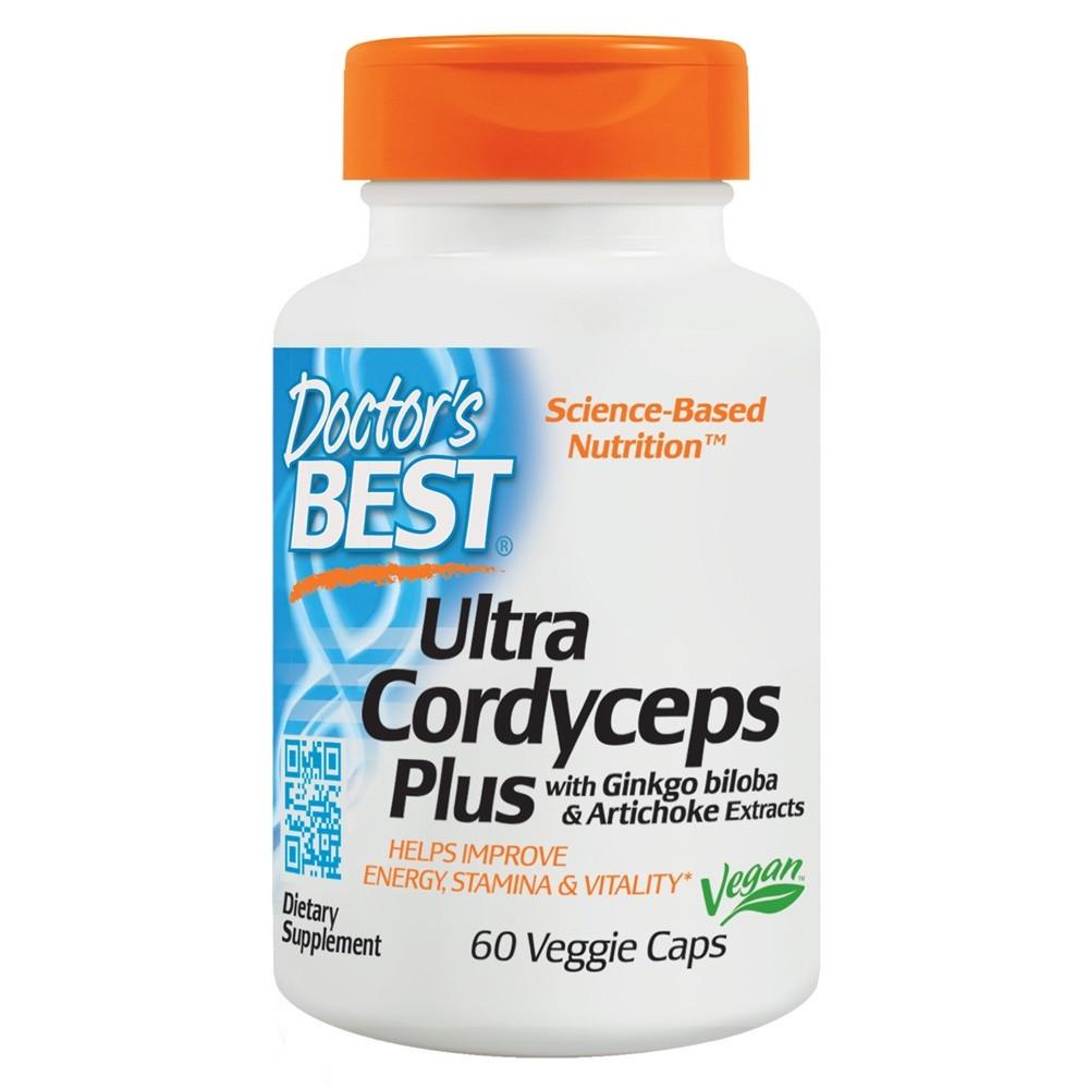Специальный продукт Doctor's Best Ultra Cordyceps Plus 60 капсул