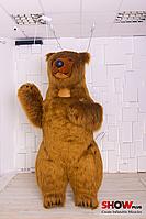 Надувной Костюм ( Пневмокостюм, Пневморобот ) Бурый Медведь с длинным мехом ( мини ) , фото 1