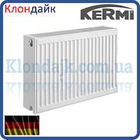 KERMI FKO стальной панельный радиатор тип 33 300х400 боковое подключение